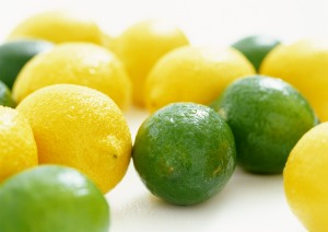 Green and Yellow Lemon